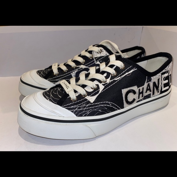 CHANEL Shoes | Chanel Low Top Sneaker